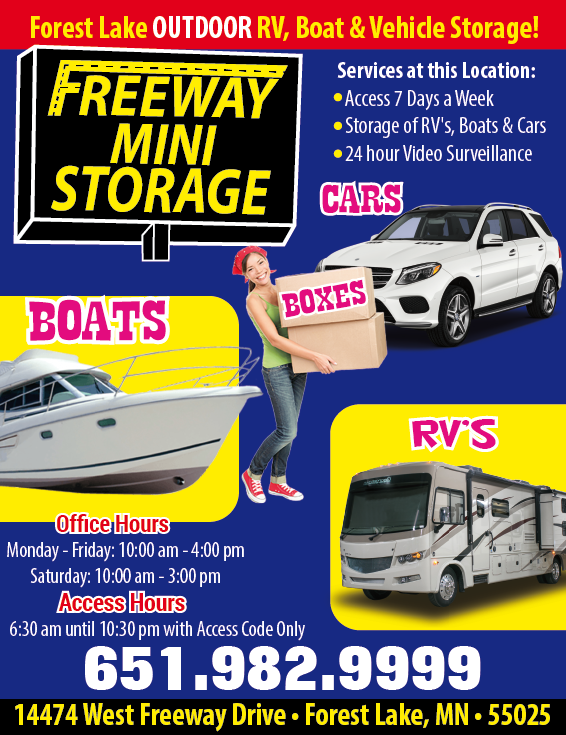 Visit Freeway Mini Storage!