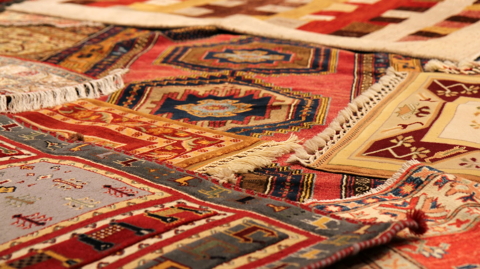 Hand-Knotted Oriental Rugs and Storage